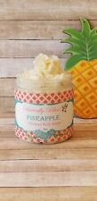 Pineapple Whipped Body Butter, All Natural, Organic, 8oz size
