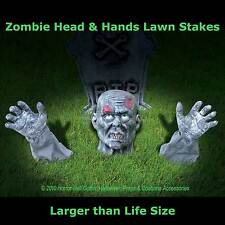 Life Size Body Parts ZOMBIE GROUND BREAKER Yard Halloween Horror Prop Decoration