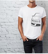 Para Hombre Premium Camiseta Mercedes A45 AMG (Single Colour sólo Diseño)