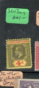 GILBERT & ELLIS (P0501B) KGV 4D  SG 17 MOG   ANTIQUE OVER 100 YRS OLD