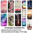 Coque Paysage New York Beach Soft Case Scenery Flower Landscape Samsung Iphone
