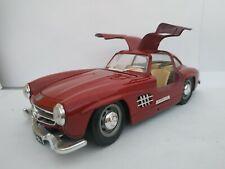 1/24 MERCEDES 300SL 300 SL ALAS DE GAVIOTA 1954 COCHE METAL ESCALA DIECAST SCALE