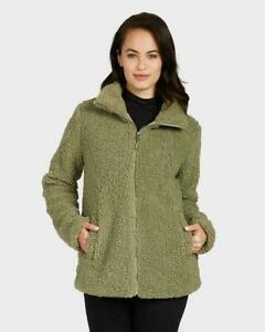 NEW! 32 Degrees Womens Teddy Sherpa Full Zip Jacket | VARIETY Size & Color | K42