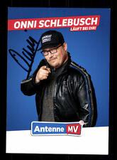 Onni Schlebusch Autogrammkarte Original Signiert # BC 110138