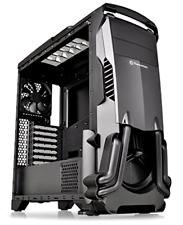 Versa N24 ATX Mid Tower Gaming Computer Case Hell Fire with Power Supply Cover