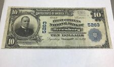Dyersburg Tennessee, First citizens national bank , 1902 VF
