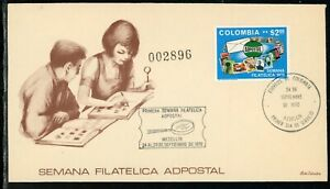 Colombia Scott #791 FIRST DAY COVER Philatelic Week $$