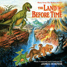 The Land Before Time complete score by James Horner Intrada LTD ED