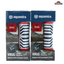 (2) Red Line Virus Protection Replacement Filter Cartridge ~ New