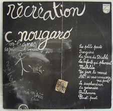 Claude Nougaro 33 Tours interprète Serge Gainsbourg 1974