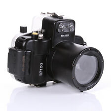 Waterproof Underwater Housing Case 40M 130ft For Nikon D7100 With 18-55mm Lens
