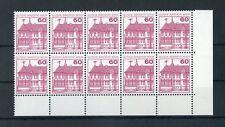 Berlino n. 611a ** eckrand 10er-blocco in basso a destra-vedi foto!!! (121492)