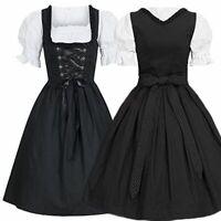 Gothic Women Lolita Dress Vintage Bow Lace Short Sleeve Princess Girl Dress