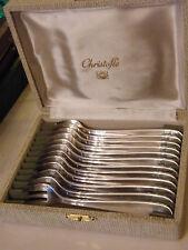 Fourchettes à Huître Christofle en Argent Plaqué Silver Silber Modèle Dax