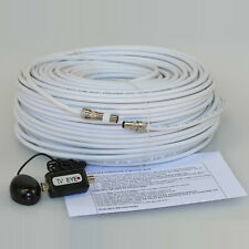 5M White Cable For Sky HD TV Link Magic Eye Kit, Everything You Need