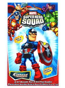 Fathead Super Hero Squad Tradeables 5-Pack Spider-Man Wolverine Hulk Thor Marvel