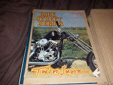 Back Street Heroes - Issue 64 - August 1989  - Motorcycle Magazine