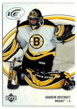 (HCW) 2005-06 Upper Deck Ice #8 Andrew Raycroft MINT Bruins