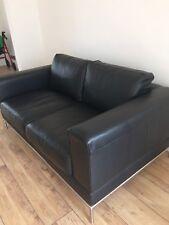 IKEA BLACK  2 SEAT  SETTEE/SOFA