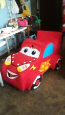 Cars Lightning McQueen Red Mascot Costume Party Character Birthday Halloween