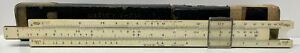 Vintage The Frederick Post Co. #1446 Slide Rule With Case Occupied Japan No Res