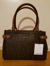Authentic Calvin Klein Womens Purse daron logo center zip city shopper tote bag
