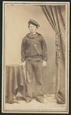 Photo:Unidentified young sailor of U.S. Navy in uniform, CIvil War 5982