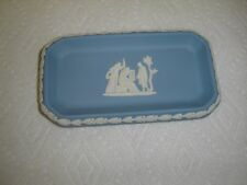 Wedgwood Jasperware Blue and White Rectangular Dish