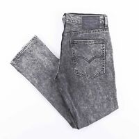 Vintage LEVI'S 511 Slim Straight Fit Men's Grey Acid Wash Jeans W32 L30