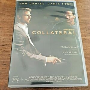 Collateral DVD Tom Cruise Jamie Foxx  R4 VERY GOOD – FREE POST