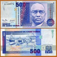 Cape Verde, Africa, 500 Escudos, 1989, P-59, UNC