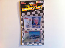 Racing Champions - Nascar - Stickers Sterling Marlin 2 hologrammes autocollants