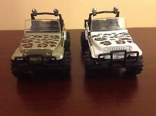 Lot Of 2 Yatming Jeep Wrangler Dcc Die Cast~Excellent~Great Deal !