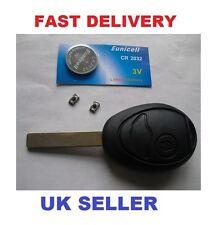 BMW MINI  ONE COOPER S  Remote Key Fob Case Repair Kit  Switchs