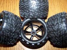 4 Traxxas 1/16 7107 Brushless VXL E-REVO Talon Tires & 12mm Wheels Tire Wheel