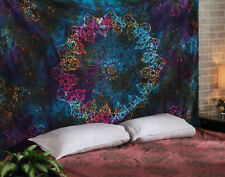 Indian Tapestry Twin  Psychedelic Wall Hanging Bohemian Hippie 100% cotton
