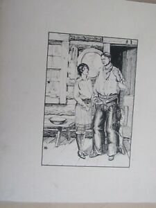 Black and White Artwork 9 X 12 Vintage Original Ink Drawing of Street Musicians Signed by Artist