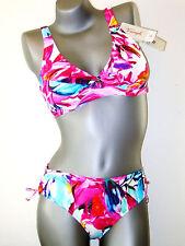 Triumph Bikini Set  -  40 B  -  Sunset Leaf NEU bunt ( GB 36 / FR 42 / IT 46 )