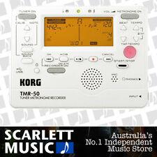 Korg TMR50 White Combo Guitar Tuner Metronome TMR-50 w/Recorder - 38% off.