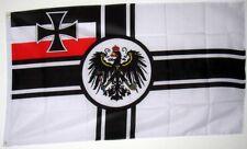 < Fahne Flagge Flag  90x150 -- Deutsche Reichskriegsflagge Kaiserliche Marine