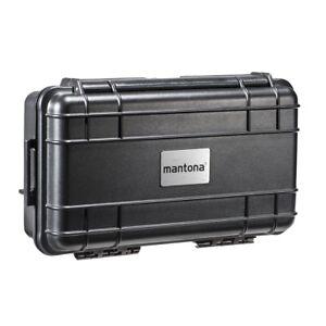 mantona Outdoor Schutz-Koffer XS, wasserdicht - stoßfest - staubdicht