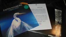 "FAITH NO MORE Angel Dust PROMO Mint SLASH UK 1992 limited LP +12"" unplayed vinyl"