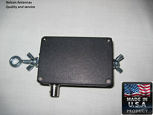 End Fed Dipole 80-6 meter Portable HF Antenna Matchbox System.