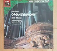 ESD 7038 - SAINT SAENS ORGAN SYMPHONY - FREMAUX -  TAS LIST QUAD VINYL LP RECORD