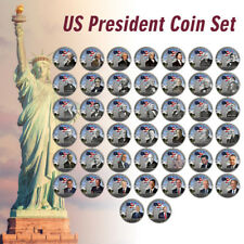 WR All 45 United States Presidents Silver Coin Set 44PCS Collect Item Xmas Gifts