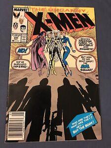 Uncanny X-Men 244 Marvel Comic 1989 1st Jubilee Appearance Very Fine