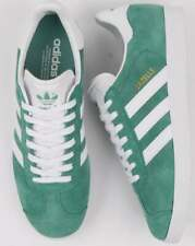 Adidas Gazelle Trainers Light Green/White
