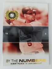 2005 Fleer Albert Pujols Insert 20 Of 20 BTN St Louis Cardinals 🔥 ⚾ Card's ☝ 👀