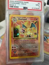 PSA 9 Charizard 4/130 Base Set 2 Holo Rare Pokemon Card MINT