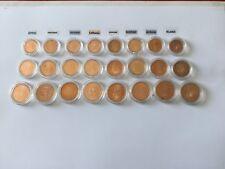 Lot de 24 pièces 1, 2 et 5 Cent. d'euro étrangères (voir photo)